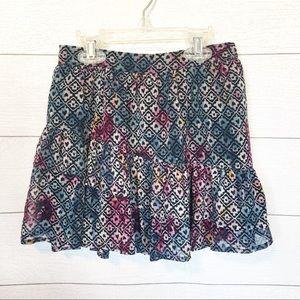 Abercrombie Girls Ruffle Skirt